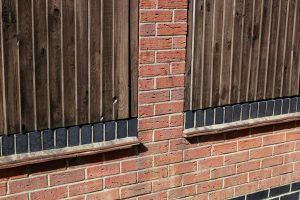Fencing & Brick Combination