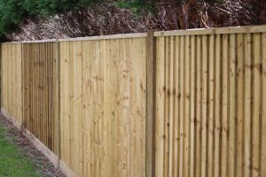 Timber Tanalised Fencing in Farnham Common